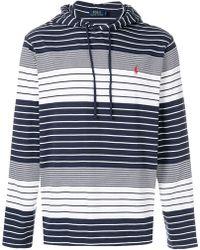 Polo Ralph Lauren - Striped Hoodie - Lyst