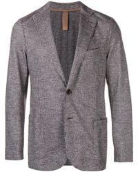 Eleventy - Grey Jacket - Lyst