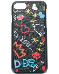 Dolce & Gabbana - Graffiti Print Iphone 7/8 Case - Lyst
