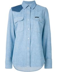 Calvin Klein Jeans - Western Lean Shirt - Lyst