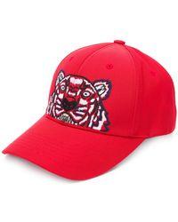 KENZO - Tiger Cotton Hat - Lyst