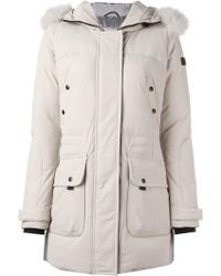 Peuterey - Down Jacket With Fur - Lyst