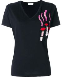 Valentino | Embroidered T-shirt | Lyst