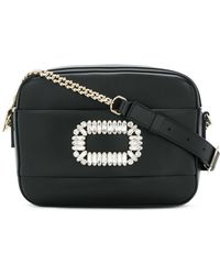 Roger Vivier - Photocall Leather Bag - Lyst