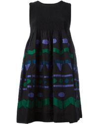 Issey Miyake Cauliflower - Large Sleeveless Dress - Lyst