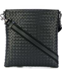 Bottega Veneta - - Woven Messenger Bag - Men - Calf Leather - One Size - Lyst