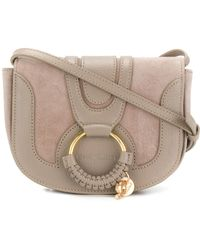 See By Chloé - Mini Hana Suede And Leather Crossbody Bag - Lyst