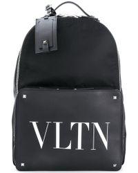 Valentino - Backpack With Vltn Logo - Lyst