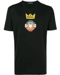 Dolce & Gabbana - Royal T-shirt - Lyst