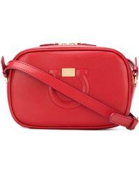 Ferragamo - City Leather Shoulder Bag - Lyst