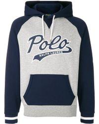 Polo Ralph Lauren - Hooded Sweatershirt - Lyst