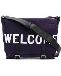 Loewe - Welcome Messenger Bag - Lyst
