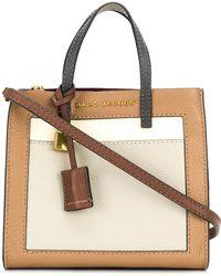 Marc Jacobs - Mini Grind Colorblocked Leather Shoulder Bag - Lyst