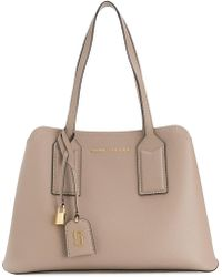 Marc Jacobs - Editor Shoulder Bag Light Slate - Lyst