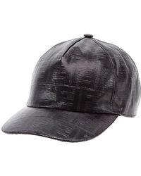 802b4352ac60a Lyst - Fendi Hats Blu in Black for Men