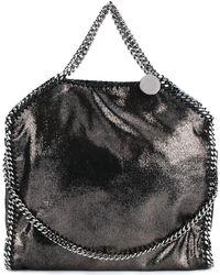 Stella McCartney - Women's Grey Polyester Handbag - Lyst