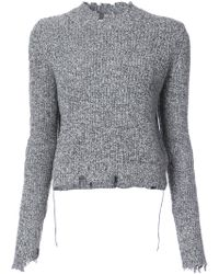 Helmut Lang - Crew-necked Sweater - Lyst