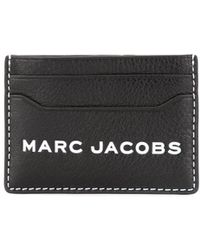 Marc Jacobs - Leather Credit Card Case - Lyst