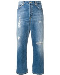 Dondup - Wide Leg Jeans - Lyst