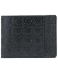 Ferragamo - Leather Wallet - Lyst