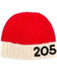 CALVIN KLEIN 205W39NYC - Wool Logo Beanie - Lyst
