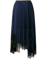 Helmut Lang - Pleated Skirt - Lyst