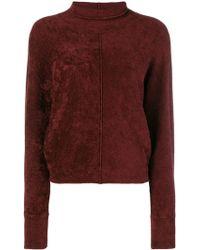 Forte Forte - Kimono Sleeves High Neck Sweater - Lyst