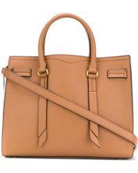 Rebecca Minkoff | Leather Handbag Sherry Satchel | Lyst