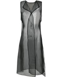 Demoo Parkchoonmoo - Organza Sleeveless Dress - Lyst