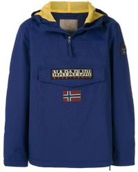 Napapijri - Half Zip Sports Jacket - Lyst