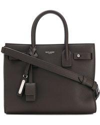 Saint Laurent - Sac De Jour Baby Leather Shoulder Bag - Lyst