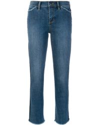 Tory Burch - Cotton Jeans - Lyst