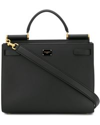 Dolce & Gabbana - Miss Sicily Large Soft Leather Bag - Lyst