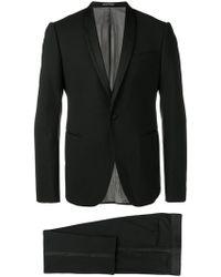 Emporio Armani Wool Tuxedo - Black