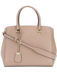 MICHAEL Michael Kors - Benning Leather Shoulder Bag - Lyst