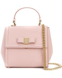 Ferragamo   Carrie Small Leather Bag   Lyst