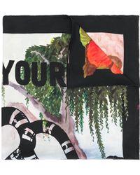 Gucci - Printed Silk Foulard - Lyst