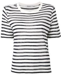 T By Alexander Wang - T-shirt In Jersey - Lyst
