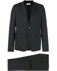 Saint Laurent - Wool Blend Suit - Lyst