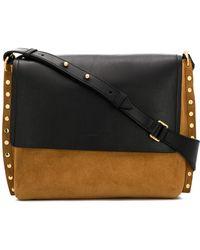 Isabel Marant - Asli Leather Shoulder Bag - Lyst