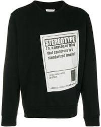 Maison Margiela - Printed Sweatshirt - Lyst