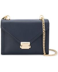 MICHAEL Michael Kors - M Group Leather Shoulder Bag - Lyst