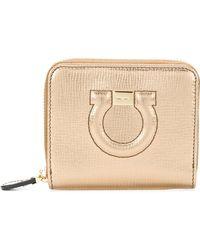 Ferragamo - Gancio City Leather Wallet - Lyst