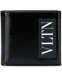 Valentino - Vltn Wallet In Leather - Lyst