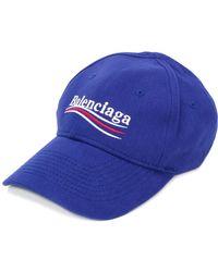 Balenciaga - New Campaign Logo Baseball Hat - Lyst