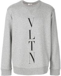 Valentino - Cotton Sweatshirt - Lyst