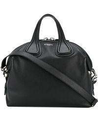 Givenchy - Nightingale Leather Shoulder Bag - Lyst