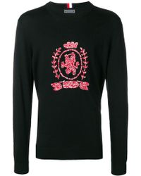 Tommy Hilfiger - Crew Neck With Embroidery - Lyst