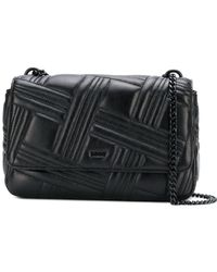 DKNY - Allen Leather Shoulder Bag - Lyst