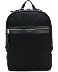 Saint Laurent - Logo Laptop Bag - Lyst